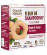 Fleur de Shampooing solide cheveux secs Argan Argile rouge Douce Nature