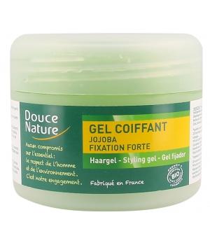 Douce Nature Gel coiffant fixation forte à l'huile de Jojoba 100ml