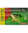 Super Diet Ginseng Acérola Gelée Royale Bio 20 ampoules +50% Super Diet
