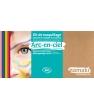 Kit maquillage 8 couleurs Arc en ciel Namaki