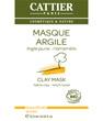 Masque argile jaune sachet unidose Cattier