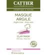 Masque argile rose Aloe vera sachet unidose Cattier
