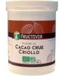 Poudre de Cacao crue Criollo Fructivia