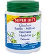 Quatuor Basilic Melisse Valeriane Houblon Bio 150 Super Diet