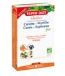 Quatuor Euphraise Carotte Myrtille Cassis Vision Bio 20 ampoules de Super Diet