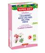 Quatuor Reine des prés Bruyère cranberry Bio 20 ampoules de Super Diet