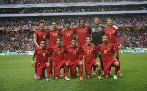 L'équipe du Portugal en Juin 2013