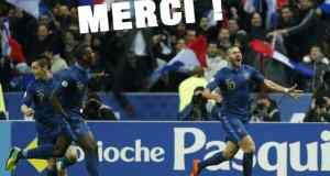 Equipe de France au Mondial