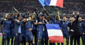 Joie equipe de France qualification au Mondial