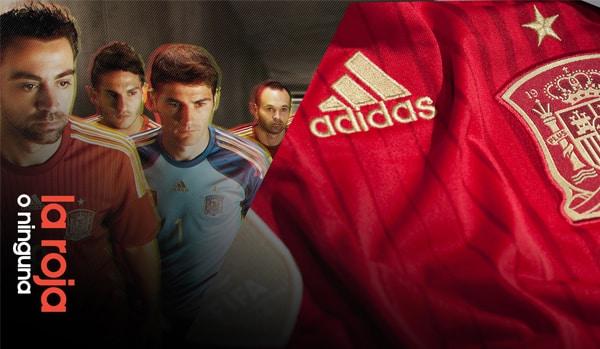 Adidas, les coéquipiers de Xavi ert l'emblème de la sélection espagnole