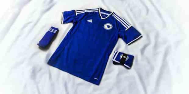 La tenue domicile de la Bosnie pour la coupe du monde 2014