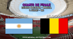 Argentine - Belgique