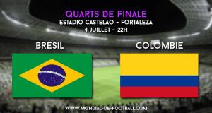 Brésil - Colombie