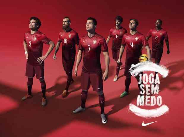 Nike, l'un des sponsors officiels du Portugal pour la coupe du monde 2014