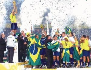 Brasile, cinque titoli Mondiali