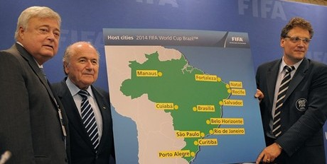 Mondiali Brasile 2014 - Città