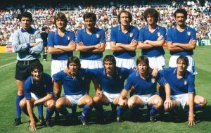 La nazionale italiana vince i mondiali di Spagna 1982