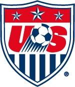 Il logo della nazionale di calcio degli Stati Uniti
