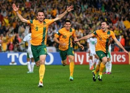 Australia: prima squadra ad arrivare in Brasile