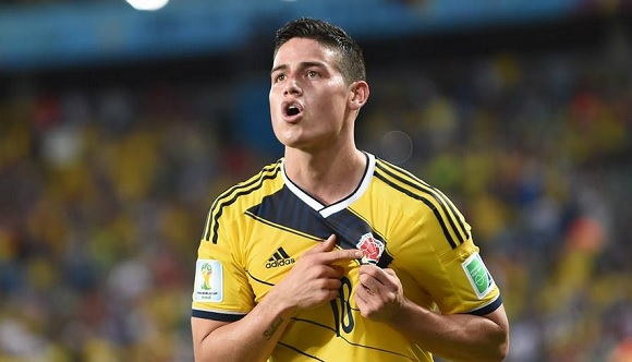 Colombia-Uruguay 2-0, è super James Rodriguez