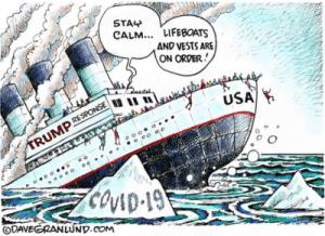 COVID-19: le naufrage ultime de la «diplomatie» et de l'avancée technologique US!