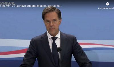 Crash MH 17 : Ne pouvant prouver en justice la responsabilité de la Russie, les Pays-Bas se défaussent sur la CEDH