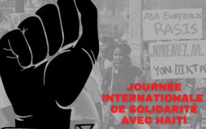 Ottawa 29 mars 2021 : Solidarité avec le peuple Haïtien révolté contre la dictature et l'impérialisme – Non à un Ambassadeur de Babekyou à Ottawa !