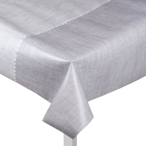 toile ciree grise effet nappe