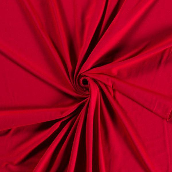 jersey couleur rouge bio et recyclé
