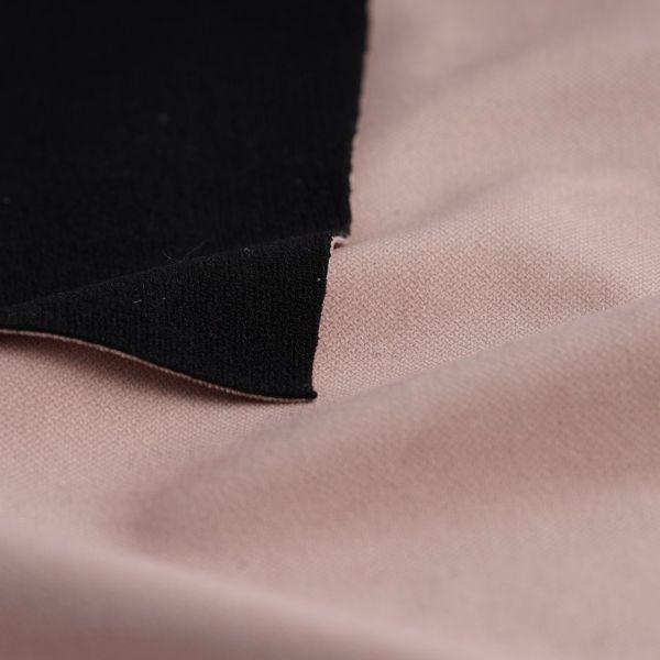tissu velours thermique phonique bristol rose