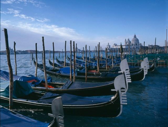VEPS 037 Venezia Vista Bacino San Marco e la Basilica della Salute