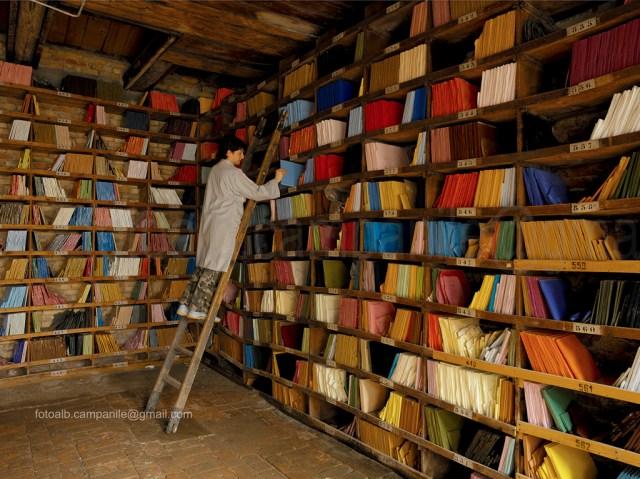 Cannaregio VE 0370  Venezia Orsoni mosaici il magazzino detto Biblioteca dei colori
