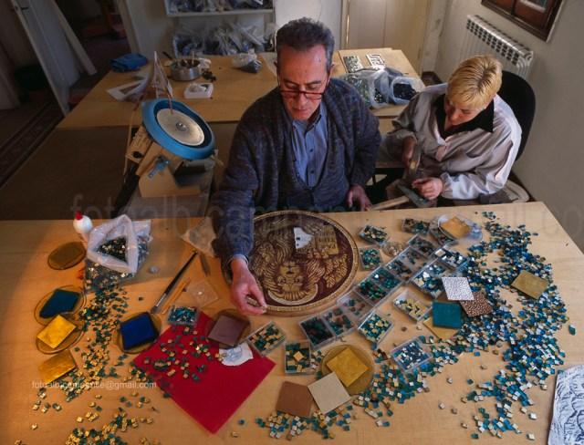 Cannaregio VEMOS 001 Venezia Smalti e ori per mosaico di A Orsoni