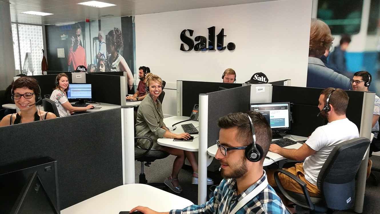 Il call center Salt parla portoghese e sconta l'abbonamento Europe