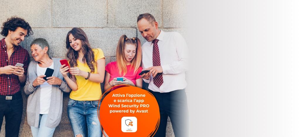 Presto risolta l'anomalia di Wind Security Pro con l'opzione Porta un Amico