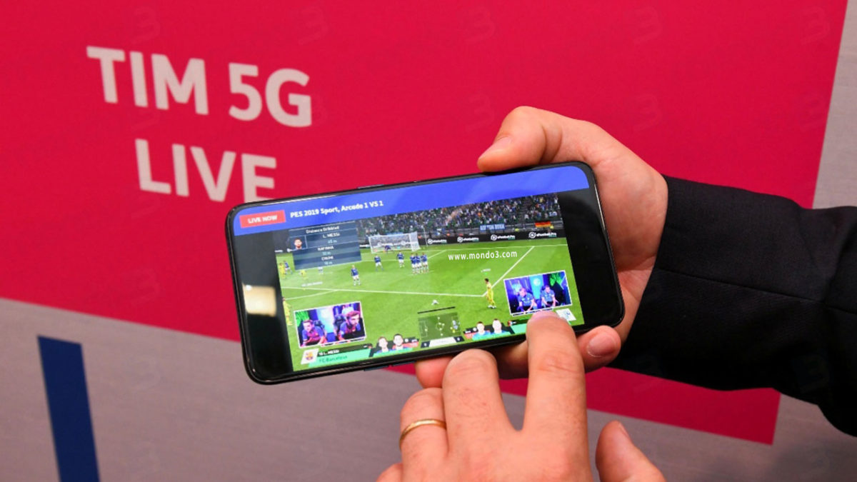 TIM, Cloud Gaming anche su rete 5G