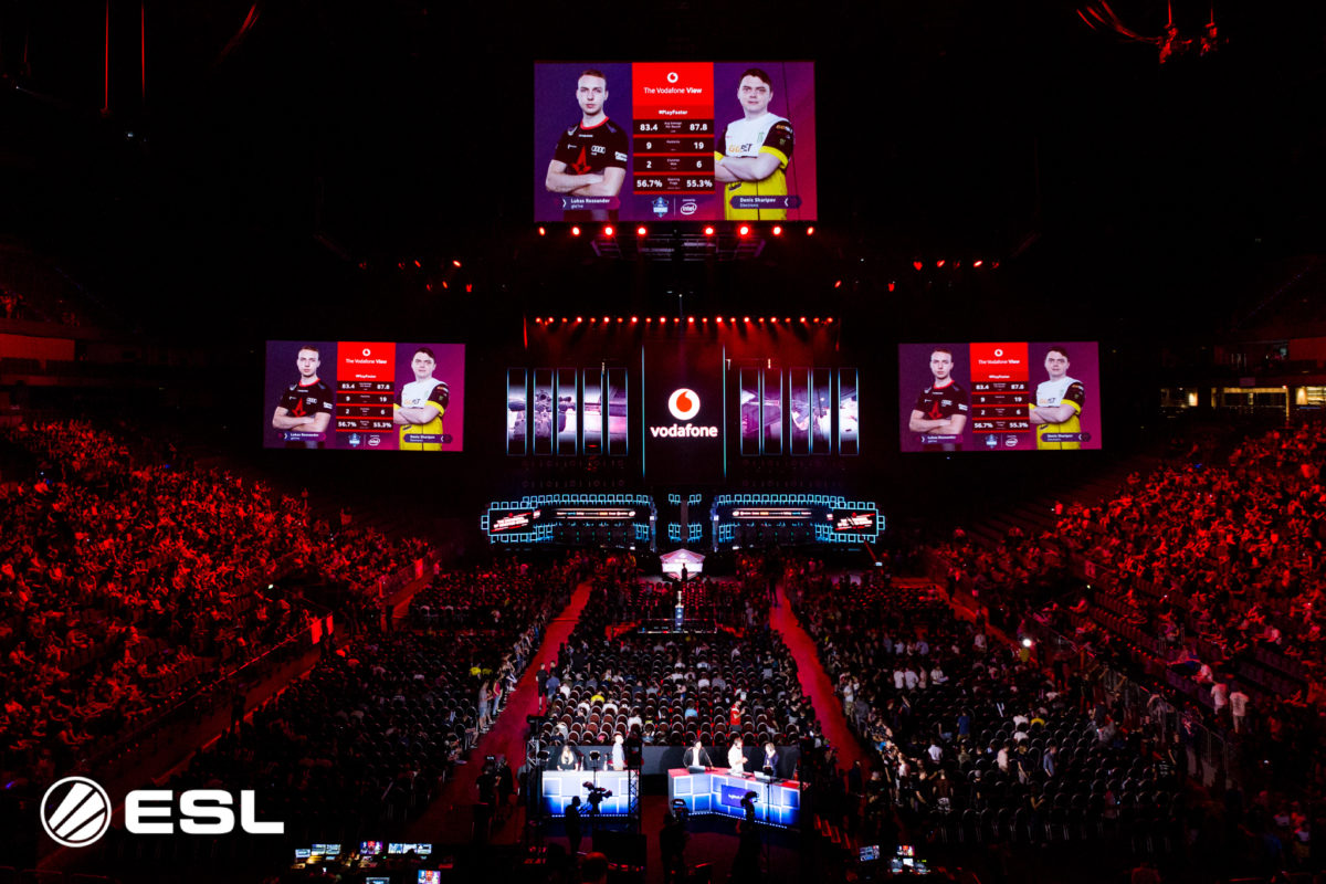 Verso le finali su rete 5G della Milan Games Week con l'ESL Vodafone Championship