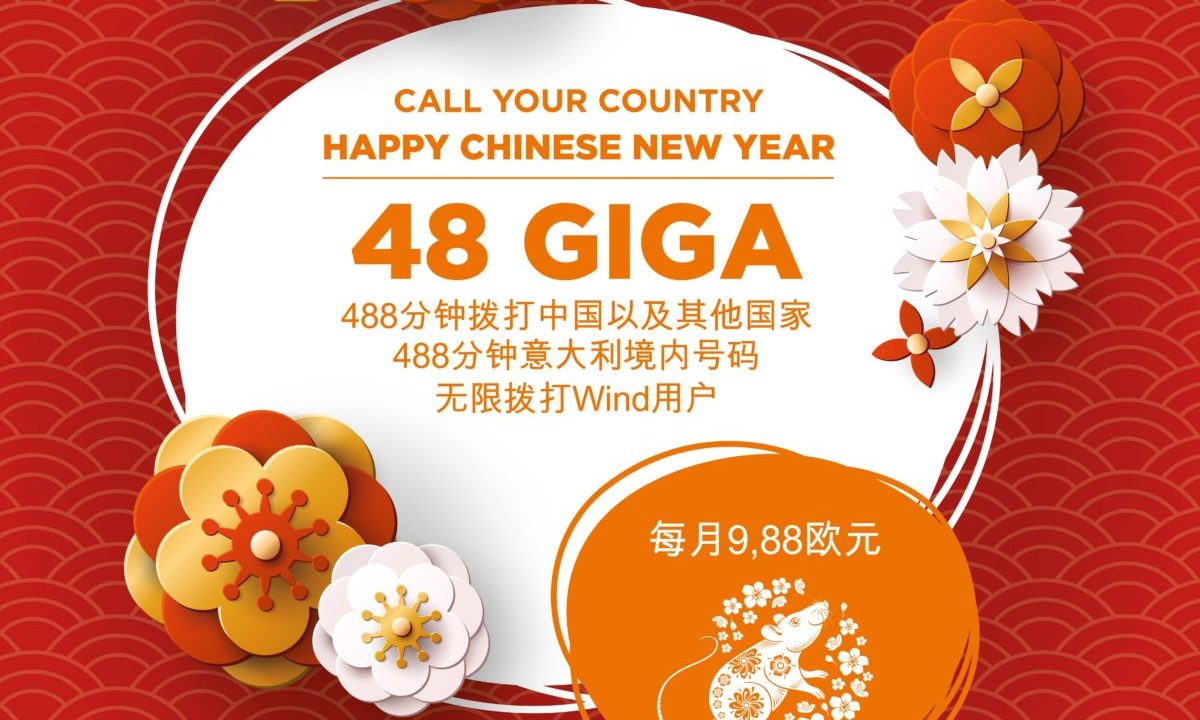 Call Your Country Happy Chinese New Year