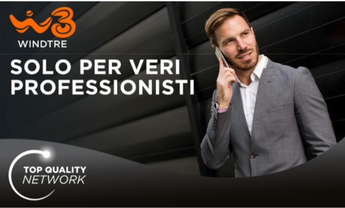 Promo Restart, continua l'offerta Wind Tre Professional per chi fa MNP