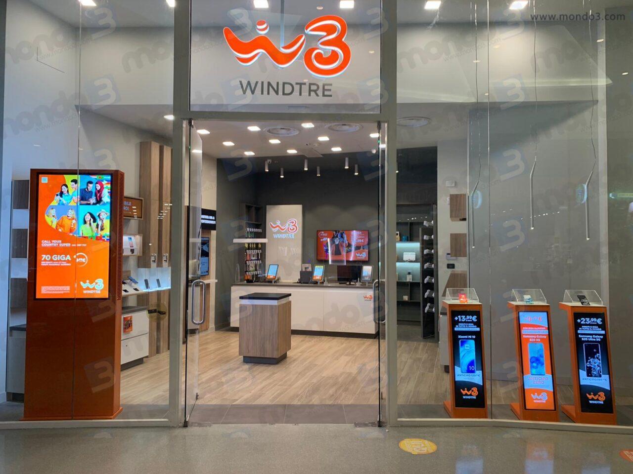 Tre campagne SMS con altrettanto offerte per i già clienti WINDTRE
