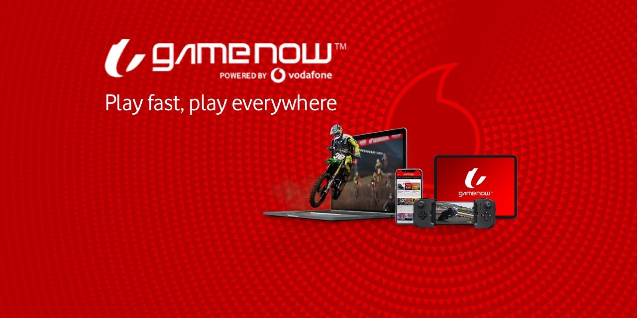 Vodafone lancia GameNow, la piattaforma di cloud gaming 5G in esclusiva per i clienti