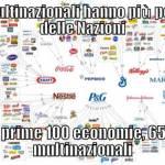 Le multinazionali hanno più potere e ricchezza delle Nazioni