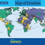 Map of Freedom 2013