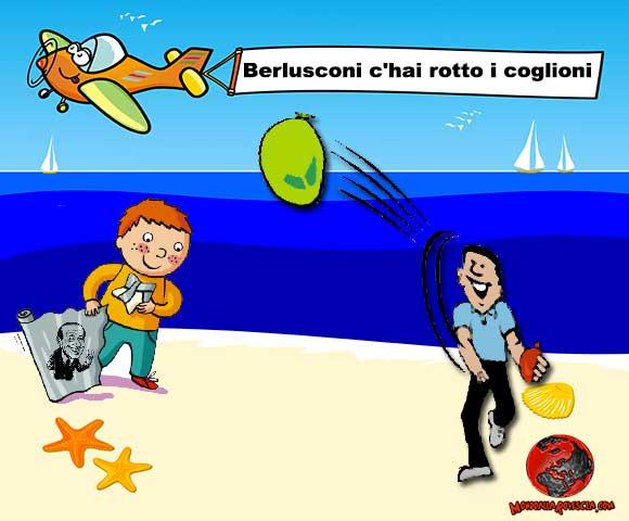 aereo-Berlusconi-Pdl-Forza-Italia-campagna-di-Ferragosto