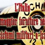 Il Medio Oriente in guerra con armi Made in Italy