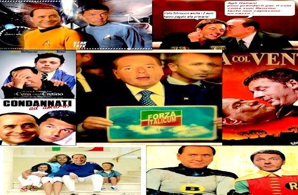 Renzi-Berlusconi-patto del Nazareto