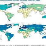 Il mondo invecchia, nel 2050 gli over 65 raddoppieranno