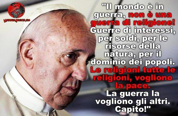 Papa Francesco-guerra-Islam