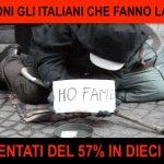 Cinque milioni di italiani non hanno da mangiare