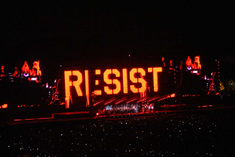 Us+Them Tour Resist
